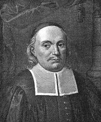Paul Gerhardt (Kupferstich von L. Buchhorn)