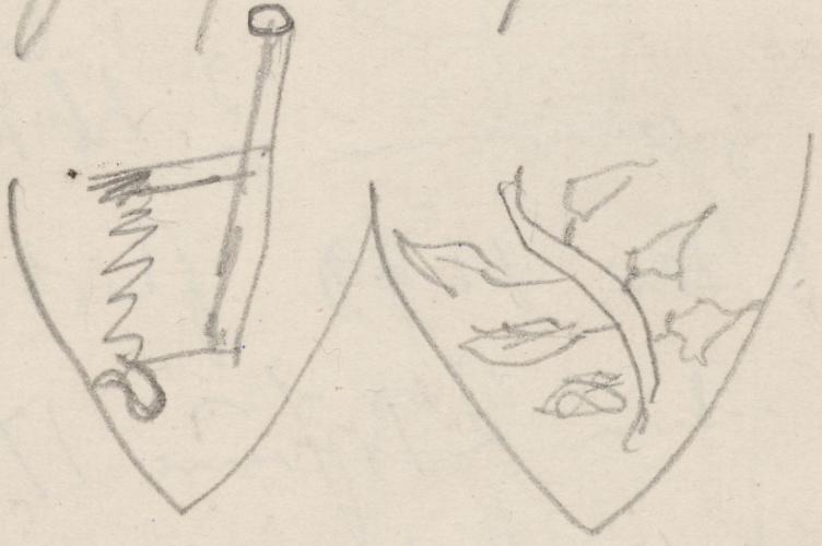 Wappen; Wustrau, Näheres nicht ermittelt.