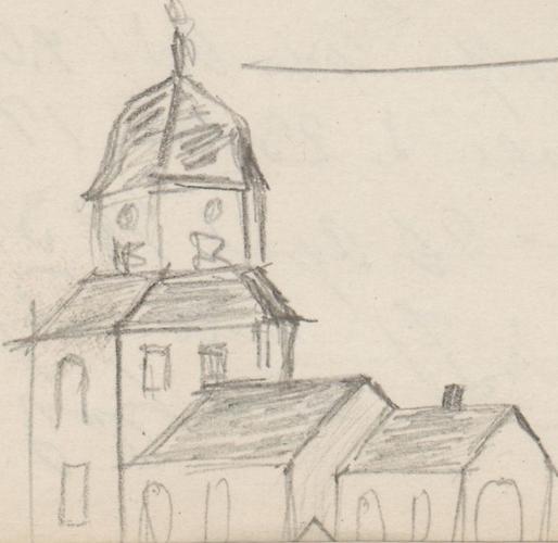 Gebäudeansicht; St. Michael KircheStAWerneuchenKirche in Werneuchen.