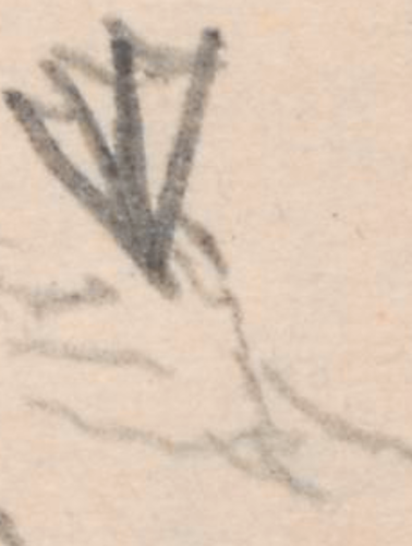Detailansicht; rechte Hand des Armors auf einer Urne, Grabkolonnade der Familie Lestwitz-ItzenplitzGrabkolonnadederFamilieLestwitz-ItzenplitzFriedhofGrabstätte der Familie Lestwitz/Itzenplitz in Kunersdorf.