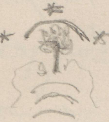 Wappen; Pfuel, von, märkisches Adelsgeschlecht, Pfuel'sPfuelvonmaerkischesAdelsgeschlechtPfuel'sPfullFamilie von Pfuel  in Jahnsfelde.