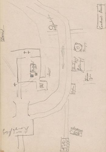 Stadtplan (Ausschnitt); Breslau (heute: poln. Wrocław)Breslau(heute:polnABreslau.