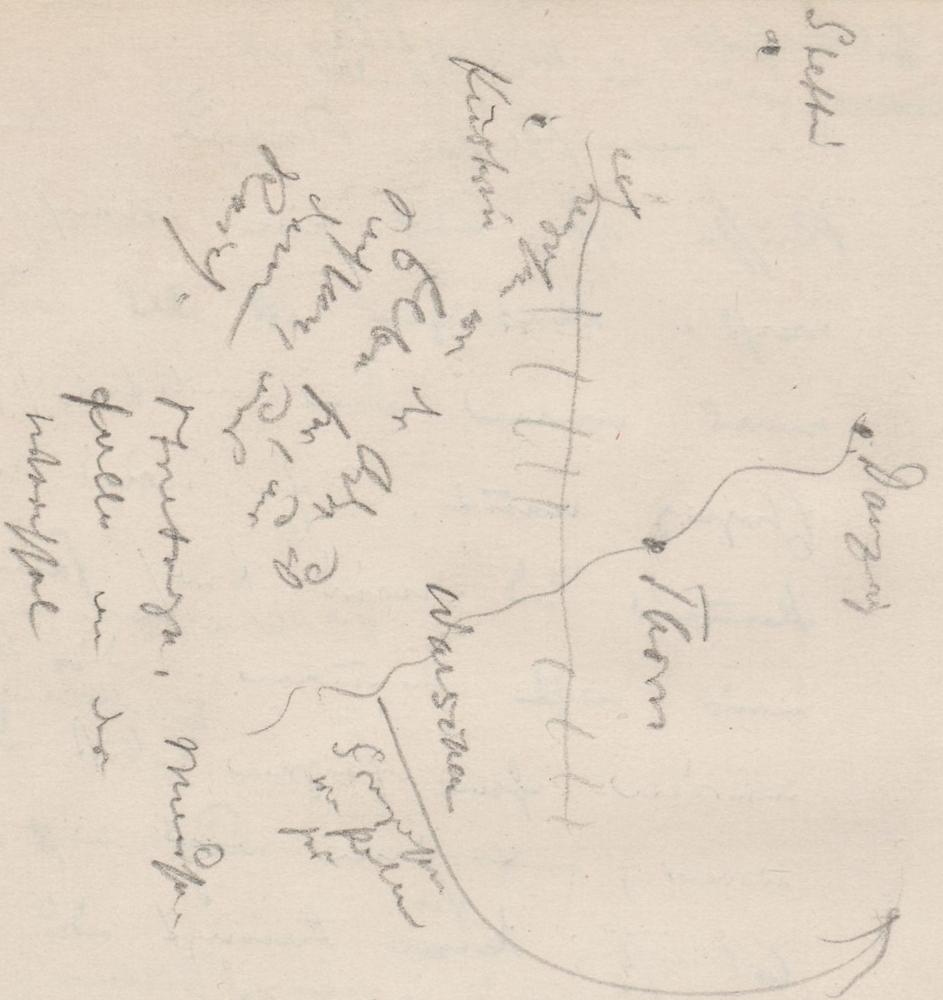 "Lageplan des Schlachtfelds; Vor dem Sturm [Roman]VordemSturm[Roman]falseFontaneLokalität aus ""Vor dem Sturm"", fiktional."