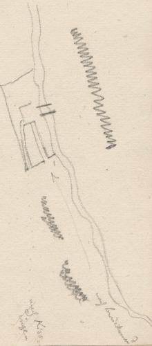 Lageplan des Schlachtfelds; HammelburgHammelburgHammelburg.