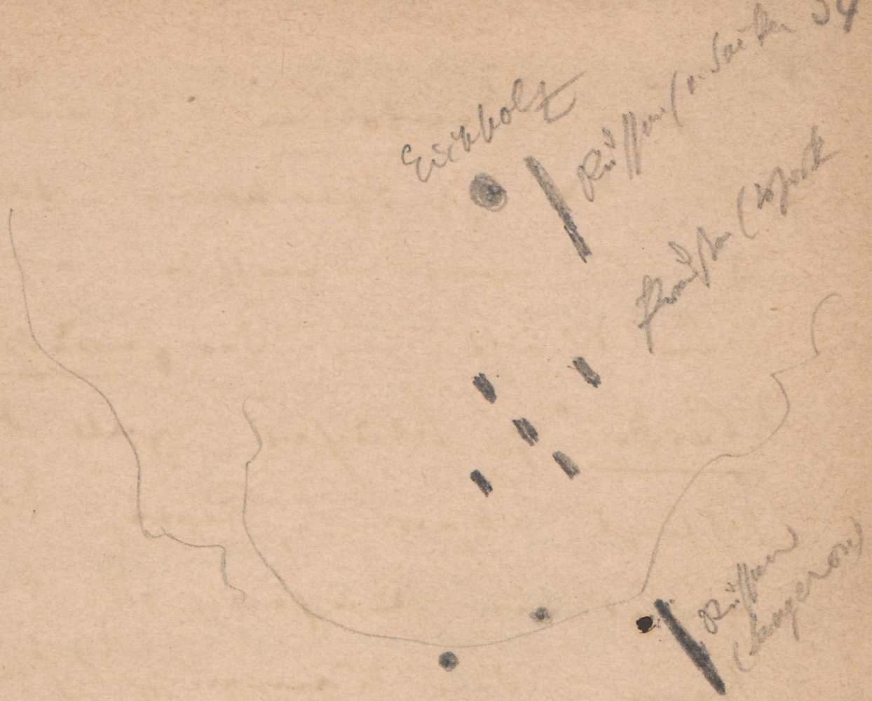 Lageplan des Schlachtfelds; Schlachtfeld an der KatzbachSchlachtfeldanderKatzbachKatzbach (Fluss; heute: poln. Kaczawa)Schlachtfeld an der Katzbach.