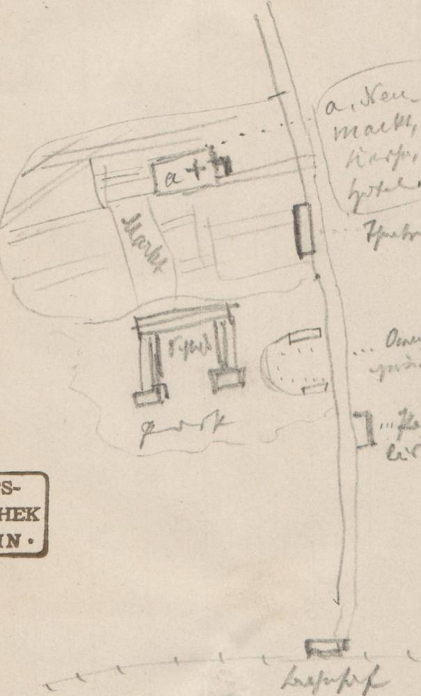 Stadtplan (Ausschnitt); Innenstadt von GothaGothaGotha.