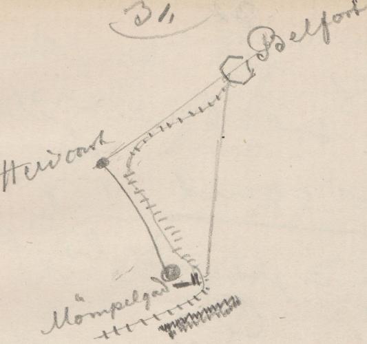 Umgebungsplan; Heringsdorf (franz. Hericourt)Heringsdorf(franzAHericourt, BelfortBelfortBelfort und Mömpelgard (franz. Montbéliard)Moempelgard(franzAMömpelgard.