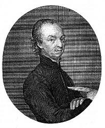Michael Denis (Kupferstich von Schleuen, nach einem Gemälde von Kisling)