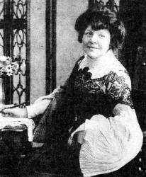 Ilse Frapan (Fotografie, aus: Der neue Postillon, Zürich, 1903)