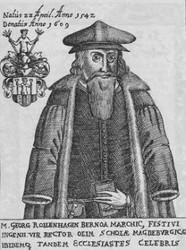 Georg Rollenhagen (Kupferstich aus Seidl, 1671)