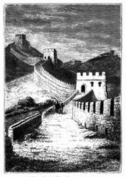 Die große chinesische Mauer. (S. 461.)