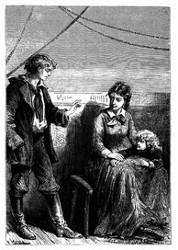 Der Leichtmatrose beruhigte immer Mrs. Weldon. (S. 114)