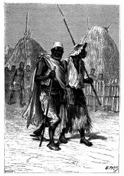 Gleichzeitig mit Alvez erschien sein Freund Coïmbra. (S. 332.)
