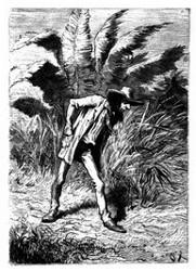 Vetter Benedict durfte in dem Etablissement ungehindert hin- und hergehen. (S. 373.)