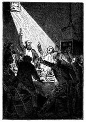 Festessen in der Columbiade. (S. 111.)