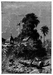 Es fand sich kein besseres Mittel als die Befestigung der Insel de la Ronde. (S. 114.)