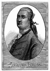 Porträt von James Bruce. [Facsimile. Alter Kupferstich.] (S. 439.)