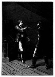Der Leichtmatrose zog einen Revolver aus der Tasche. (S. 130.)