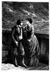 »Dick, mein liebes Kind, mein Kapitän!« sagte Mrs. Weldon. (S. l39.)