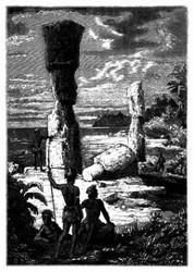 Eingeborne der Osterinsel. (S. 305.)