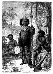 Eingeborne der Marquesas-Inseln (S. 199.)