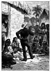 Aber Fragoso besaß sein Lockenholz. (S. 119.)