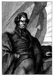 Kapitän John Roß. (Facsimile. Alter Kupferstich.)
