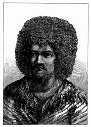 O-Too, König von Tahiti. [Facsimile. Alter Kupferstich.] (S. 187.)