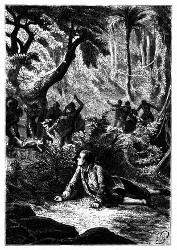 Der war bei der Niedermetzlung seiner Kameraden entkommen. (S. 279.)