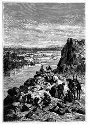 Der zweite Katarakt des Nil. (S. 190.)