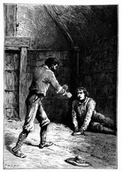 »Du Elender!« rief der Portugiese. (S. 363.)