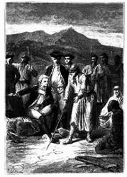 Er zeichnete die Karte der Tatarei. (S. 324.)