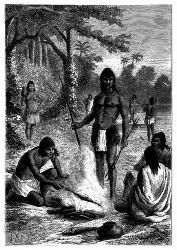 Indische Omaguas.