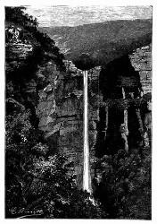 Der Katarakt »Aspley's Water-Fall«. (S. 359.)