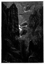 Die Durchquerung des Felsengebirges. (S. 87.)