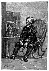 Der Richter Jarriquez. (S. 214.