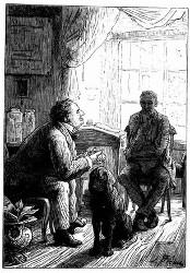 Doctor Ox und sein Famulus Ygen. (S. 26.)