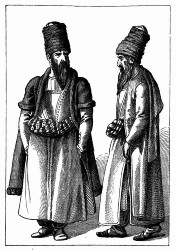 Persische Kostüme. [Facsimile. Alter Kupferstich.]