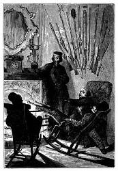 Mitglieder des Gun-Clubs. (S. 10.)