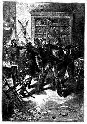 Wladimir Yanof wurde gewaltsam aus seiner Wohnung geschleppt. (S. 39.)