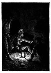 Der Gelehrte tummelte das Steckenpferd weiter. (S. 279.)