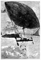 Der »Albatros« näherte sich dem Go a head (S. 219.)