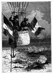 Coutelle blieb mit dem General Morlot 7 bis 8 Stunden auf dem Observationsposten. (S. 154.)