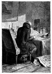 Nicholl streitet in zahllosen Briefen. (S. 70.)