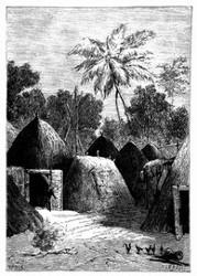 Die Stadt Kazonnde bot einen völlig ungewohnten Anblick. (S. 357.)
