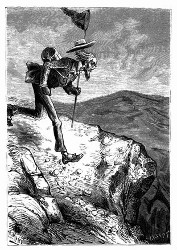 Vetter Benedict raste in Gelehrtenwuth. (S. 164)