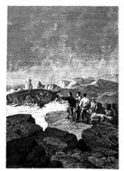 Das Wiedersehen ihres Schiffes.. (S. 162.)