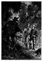 Es waren Brasilianer, nach Jägerart gekleidet. (S. 21.)