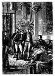 Bonaparte empfing ihn mit Auszeichnung. (S. 399.)