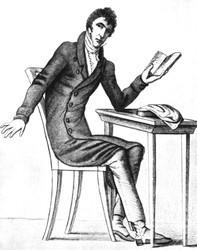 Zacharias Werner (Zeichnung von E. T. A. Hoffmann)